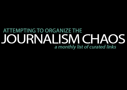 Journalism Chaos:  Links for journalism advisers from around the web