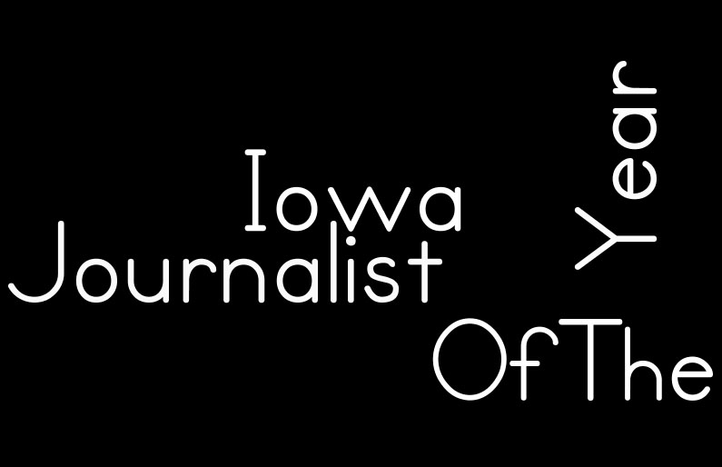 Journalist of the Year competition - Due 2/15/2020