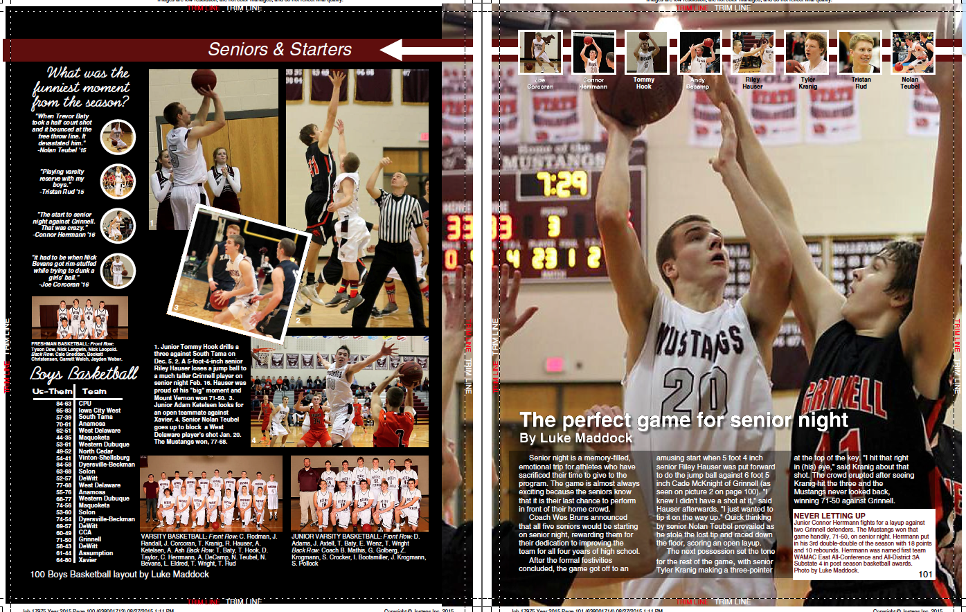 How To Design A Yearbook Page