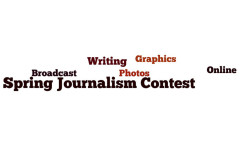 Spring journalism contest results by class and category