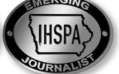 Pin awarded to top 10 Emerging Journalists
