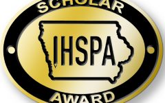 Pin awarded to IHSPA Scholars