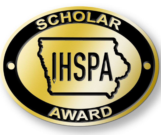 Pin+awarded+to+IHSPA+Scholars