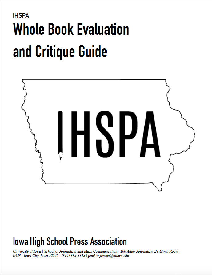 IHSPA+Re-Evaluates+Evaluation+Guide+for+Whole+Book+Contest