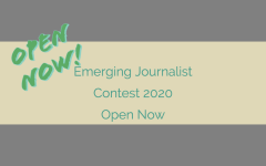 Emerging Journalist Contest – NOW OPEN 2020