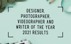Designer, photographer, videographer and writer of the year 2021