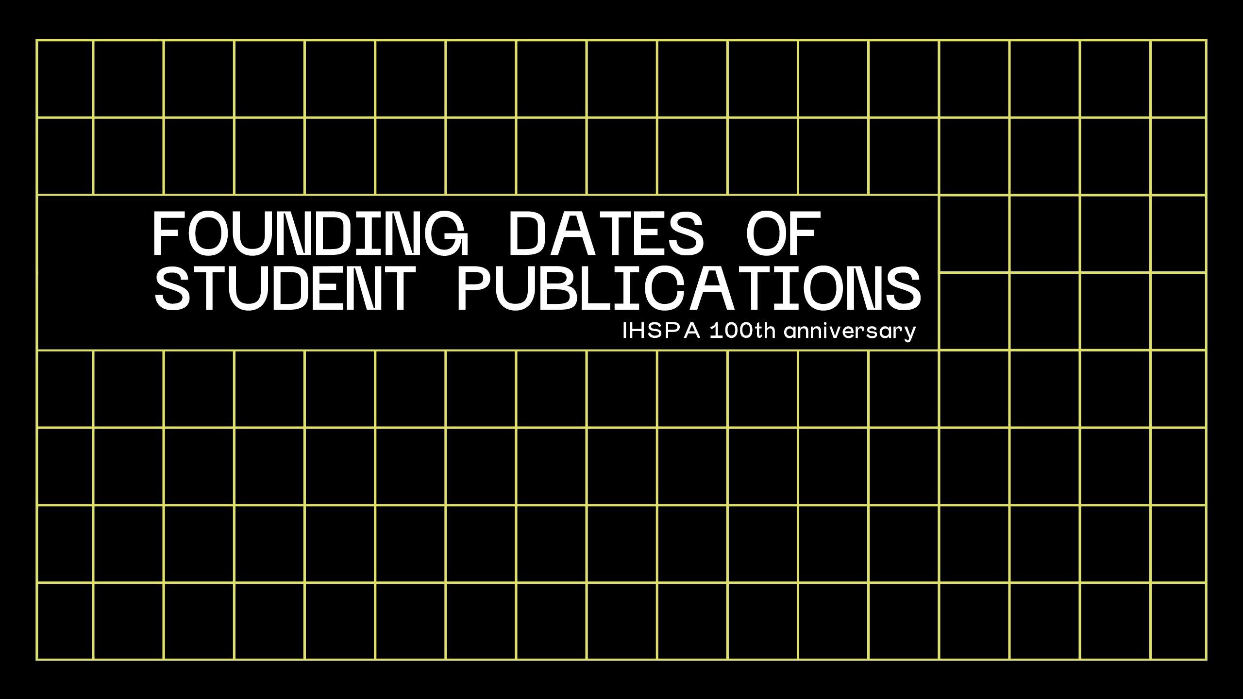 Iowas rich student publication history